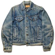 Levi's USA Made Vintage 80s Trucker Denim Jean Jacket Blanket Lined Size 38