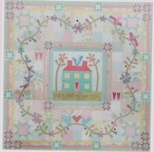 Home is Where My Heart Resides -applique & pieced quilt PATTERN - Rosalie Dekker