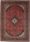 10X13 Red Traditional Floral Vintage Large Handmade Oriental Rug Carpet 9'7X13'4