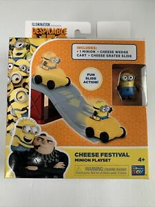 DESPICABLE ME 3 CHEESE FESTIVAL MINION PLAY SET Brand New In Sealed Package
