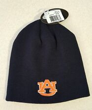 NWT Top of the World Adult AUBURN UNIVERSITY TIGERS Knit Hat WINTER Navy #150216