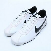 Nike Marquee White Leather Casual Sneakers 580537-120 Size 7