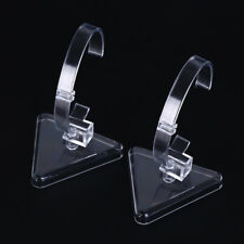 1pc plastic wrist watch display rack holder sale show case stand tool G$CA