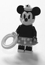 LEGO Disney Vintage Minnie Mouse Maus inkl. Zubehör Mickey Mouse black withe