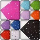 "1 x Printed Felt Sheet - 12"" x 12"" - Stars [Various Colours]"