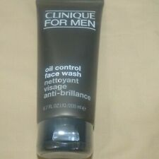 Clinique For Men Oil Control Face Wash Full Size 6.7FL.OZ./200ML NEW SEALED