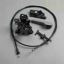Fit For VW Jetta Golf MK4 Hood Latch+Release Handle+Bracket+Cable Lower Part New