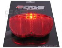 Bicycle Tail Light LED Battery Rear light Reflector - Pannier rack Illumination