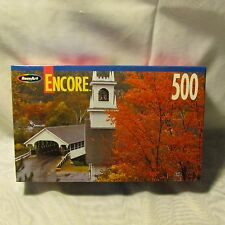 New Hampshire Stark Covered Bridge Jigsaw Puzzle, 500 Pieces, NIB