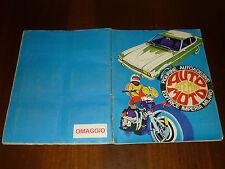 ALBUM FIGURINE AUTO STEMMI MOTO Ed. IMPERIA ANNI 60/70 COMPLETO - 1 - OTTIMO +!!