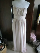 AFTER SIX NUDE BEIGE EVENING OCCASION PROM DRESS SIZE 12 EXCELLENT CONDITION