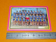 N°163 BRESCIALAT MERLIN GIRO D'ITALIA CICLISMO 1995 CYCLISME PANINI TOUR