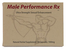 Male Performance Rx - Male Enhancement Pills - High Potency Testosterone Booster