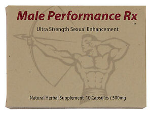 Male Performance Rx - Male Enhancement Pills - High Potency Booster