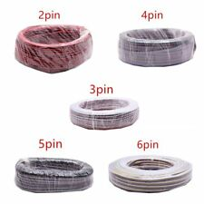 2pin 3pin 4pin 5pin 6pin 22AWG LED RGB wire Cable For WS2812 5050 3528 LED Strip