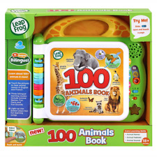 LeapFrog Learning 100 Animals Educational Book NEW