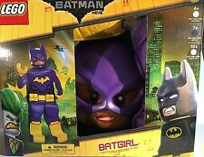 Lego Batman Movie BATGIRL Halloween Dress Up Prestige Costume M 7-8 Complete NEW