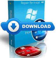 Download Windows 7 Professional ISO + 2 x DVD By Mail Reinstall Recovery 64 Bit