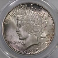 1923-S Peace $1 PCGS Certified MS64 San Francisco Minted Silver Dollar Coin