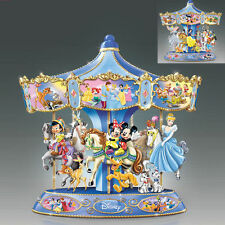 Bradford Exchange Ultimate Wonderful World of Disney Musical Rotating Carousel
