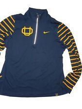 Nike Oregon Ducks Tailgate Element Half Zip Top Womens XL 34708x Webfoots 7827d2a39