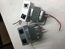 598 Edwards Transformer with Circuit Breakers (lot of 2)