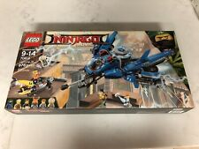 New LEGO Ninjago Movie Lightning Jet (70614). Mini Figures