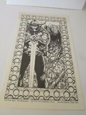Barry Windsor Smith The Four Ages 1974 Second Edition 4 Plates Comic Art