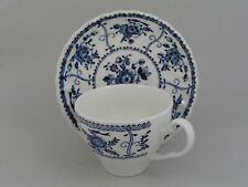 JOHNSON BROTHERS INDIES CUP AND SAUCER, (PLAIN HANDLE).