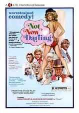 Not Now Darling Poster 01 Metal Sign A4 12x8 Aluminium