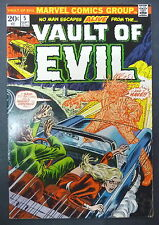 vault of evil 5 marvel 1973