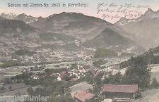 Schruns mit Zimber Zimba AK um 1910 Montafon Vorarlberg Österreich 1611043