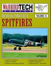 Merlin-Powered Spitfires (Warbird Tech Series Volume 35) - New Copy