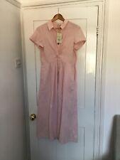 Beautiful Monsoon  linen dress 12 Pink BNWT