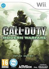 Call of Duty Modern Warfare Reflex Wii PAL Brand New