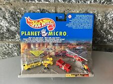 Hot Wheels PLANET MICRO - URBAN RESCUE SERIES 1 # MOC rare