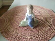 """Royal Copenhagen"""" Boy with Gourd"""" by Jm Nissen, Model # 4539"""