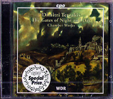 Dimitri TERZAKIS Gates of Night and Day String Quartet 2 3 Oktoechos Erotikon CD