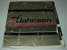 Hanbok Johnson Outboards 5 / 6 / 8 Modell Käyttöohje Driftsvejledning Stand 1987