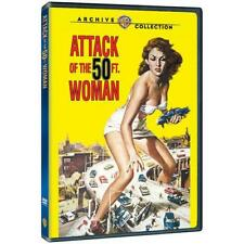 ATTACK OF THE 50FT WOMAN. (1958) Allison Hayes. UK compatible. New sealed DVD.