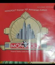 Premier 70th Anniversary Edition Monopoly Wood Case Complete
