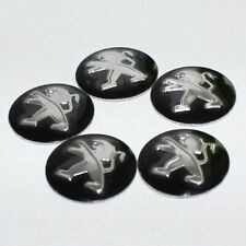 5 x 14mm PEUGEOT Replacement Key Fob Badge Sticker