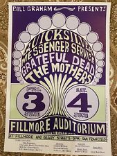 Grateful Dead & The Mothers - Fillmore - 1966 (2nd print)