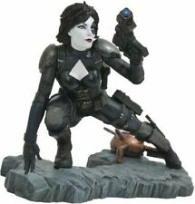DIAMOND SELECT MARVEL PREMIER COLLECTION DOMINO 12 INCH STATUE CABLE DEADPOOL