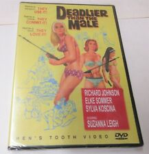 Deadlier Than The Male (DVD, 2003) Factory Sealed
