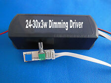 24-30x3w Dimmable LED Driver Power supply AC100V~240V Input/70V-100V 600MA