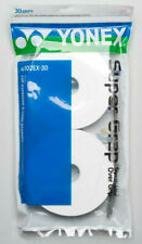 Yonex Super Grap Overgrip 30 Pack White Tennis Over Grip SuperGrap