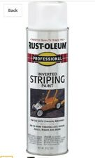 Rust-Oleum 2593838 Professional Stripe Inverted Striping Spray Paint, 6-18oz.can