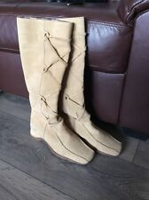 Wedge Suede Knee High Boots NEXT for Women