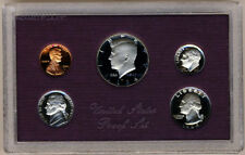 1984 United States US Mint 5 Coin Proof Set